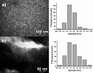 Tem Images Of Ruthenium Nanoparticles Synthesized In The