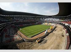 Estadio Azteca es remodelado para partidos de la NFL Al