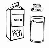 Milk Coloring sketch template