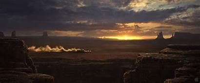 Rango Western Desktop Sunset Desert Wallpapers Country
