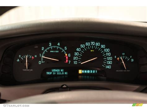 buick park avenue ultra supercharged gauges photo