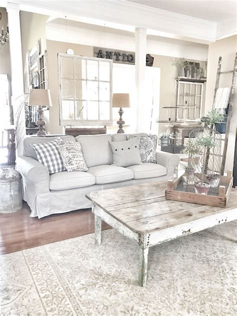 Decorating Ideas For Living Rooms Shabby Chic by Beautiful White Shabby Chic Living Room Decoration Ideas