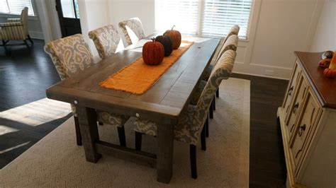 rustic grey dining table rustic slate gray the clayton rustic farm dining table 4976