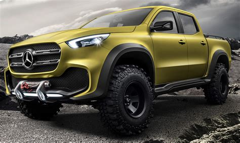 La Nouvelle Mercedes Pick Up 2017 X Class Au Salon De Sao