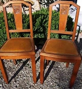 Relooker Des Chaises : relooker des chaises ann es 1940 ~ Melissatoandfro.com Idées de Décoration