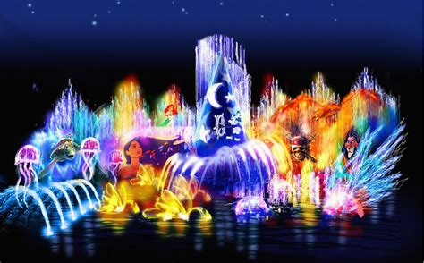 Disney Light Show by The World Of Color Concept Designing Disney