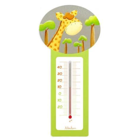 thermomètre hygromètre chambre bébé thermometre chambre bebe ziloo fr