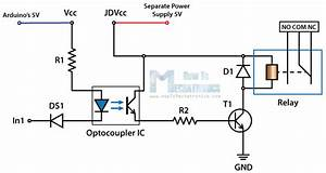 24v relais schalten mit dem arduino With solid state relay design archives electronic circuit diagram