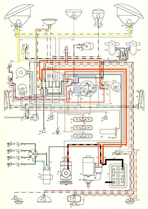 similiar 1970 vw bus alternator conversion wiring keywords wiring diagram likewise karmann ghia wiring diagram also vw bus wiring