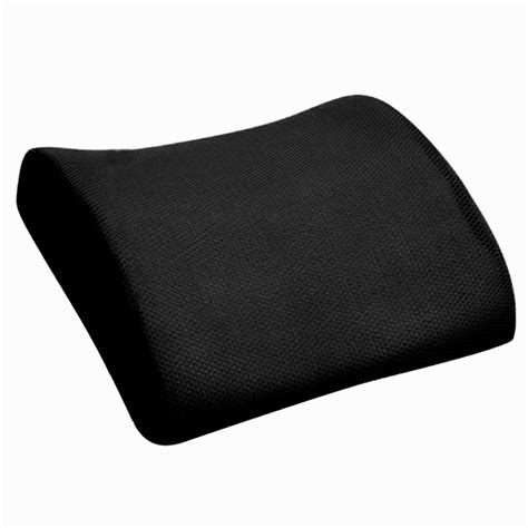 memory foam seat chair lumbar back support cushion pillow