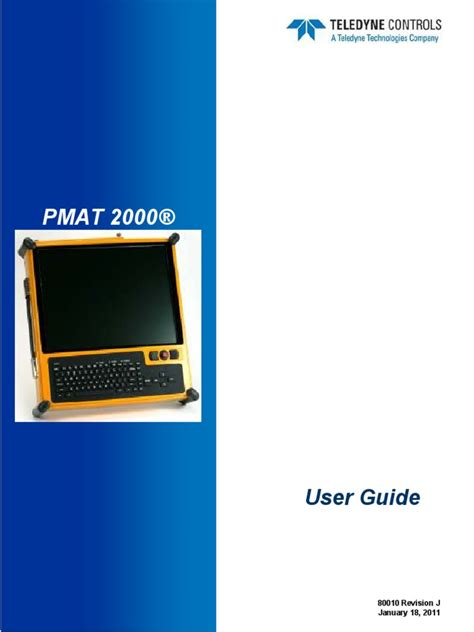 Looking for the definition of pmat? Users Guide PMAT 2000® | Computer Keyboard | Computer File