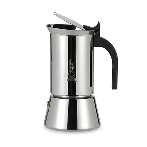 The bialetti moka celebrates more than 80 years of classic design elegance and technological simplicity. Bialetti® Venus Stainless Steel Stove Top Espresso Maker - Bed Bath & Beyond