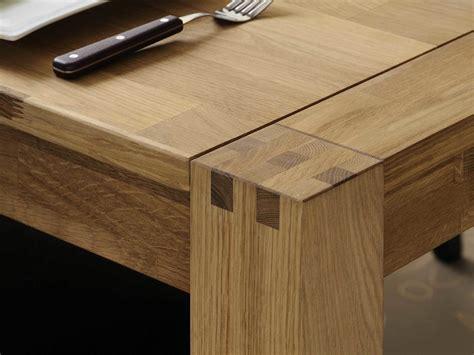 meuble cuisine massif table à manger rectangulaire en chêne finition huilée