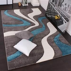 designer teppich mit konturenschnitt modern grau t real With balkon teppich mit disney tapeten shop