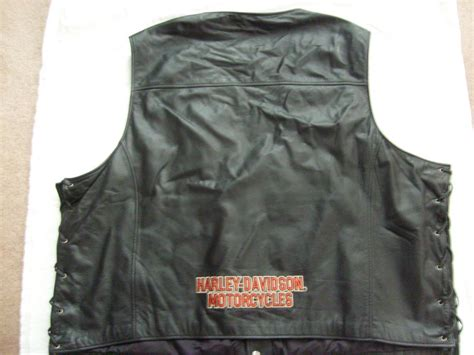 Harley-davidson Pathway Leather Vest 4xl