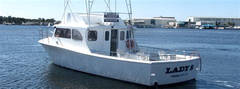 Fishing Boat Electronic City Phone Number lady s fishing boat capt mike charters in panama city fl