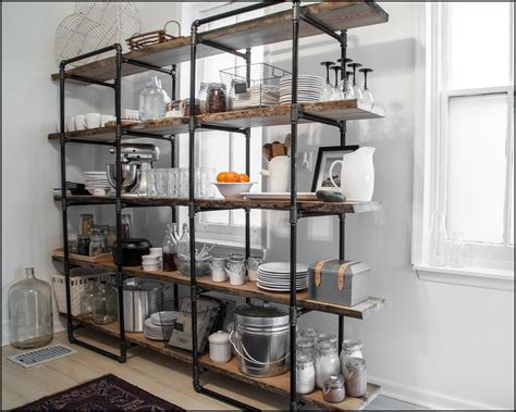 Kitchen Industrial Kitchen Shelving Units Industrial