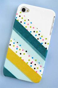Washi tape cell phone case - Washi Tape Crafts