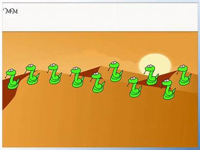 Counting Number Line Summary Count Crossing Snake