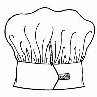 Printable Chef Hat Coloring Page