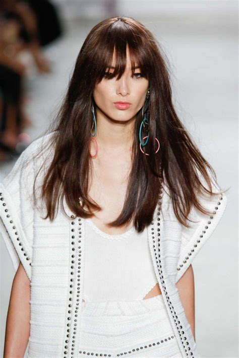 Choose the right types of bangs for your face All Things