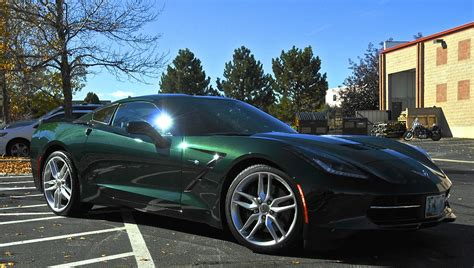 Metallic Green Car Paint Colors