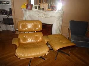 Fauteuil Charles Eames : fauteuil lounge chair charles eames l 39 atelier 50 ~ Melissatoandfro.com Idées de Décoration