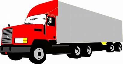 Truck Clip Clipart Vector Clker Domain
