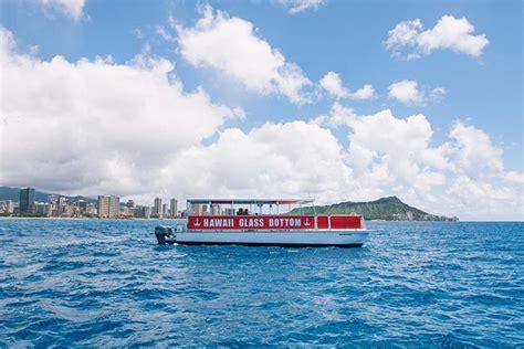 Hawaii Glass Bottom Boat Oahu by Hawaii Glass Bottom Boat Afternoon Cruise Honolulu Hi