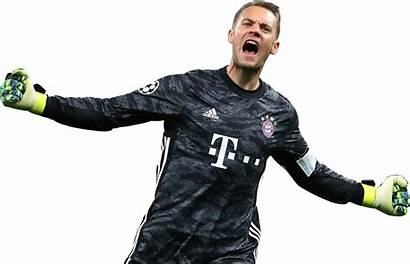 Neuer Manuel Render Bayern Munich Footyrenders Football