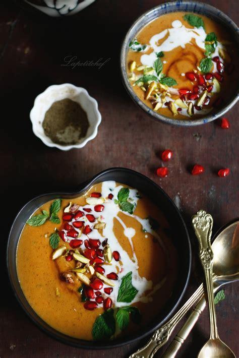 moroccan roasted pumpkin soup la petit chef