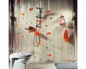Duschvorhang Bei Dachschräge : duschvorhang spirella goldfish bei hornbach kaufen ~ Markanthonyermac.com Haus und Dekorationen