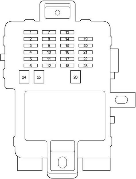 2004 2006 toyota tundra cab fuse box diagram 187 fuse