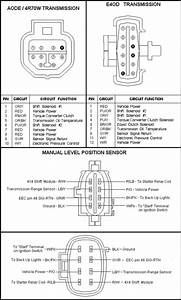 97 Ford F 150 E4od Diagram