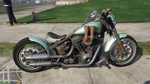 Harley Fat Boy : harley davidson fat boy lo racing bobber gta5 ~ Medecine-chirurgie-esthetiques.com Avis de Voitures