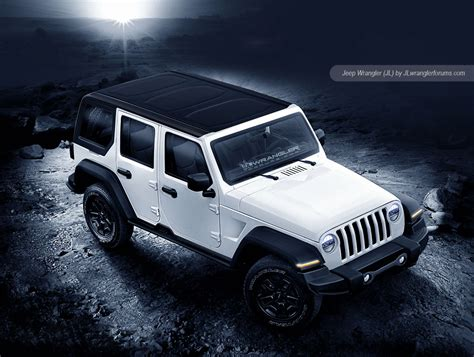 white jeep 2018 2018 jeep wrangler looks ready to rock in latest