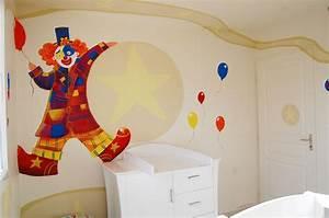 decoration chambre cirque With couleur mur bureau maison 14 deco chambre roi lion