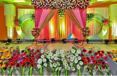 Decoration Pondicherry Stage Jayaram Valaikappu Decorations Decorat