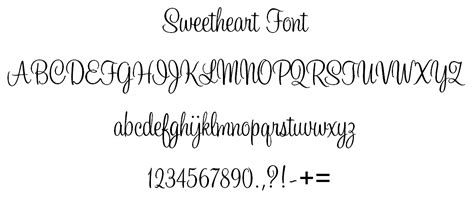 sweetheart embroidery font posy lane