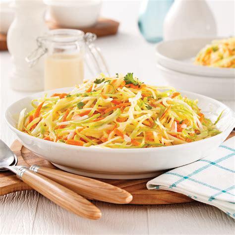 chou cuisine salade de chou crémeuse recettes cuisine et nutrition