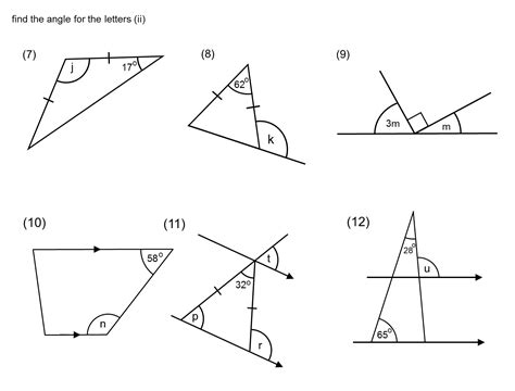 quadrilaterals worksheet year 8 printable worksheets and
