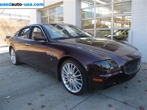 2008 Maserati Quattroporte For Sale by For Sale 2008 Passenger Car Maserati Quattroporte M139