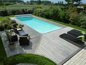 les 25 meilleures idees de la categorie amenagement With exceptional amenagement jardin autour piscine 5 une cascade dans votre piscine