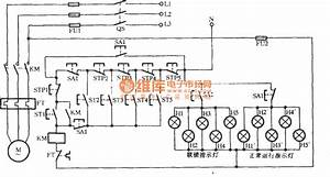 Electromotor Indicator Light Circuit Controlled By Five