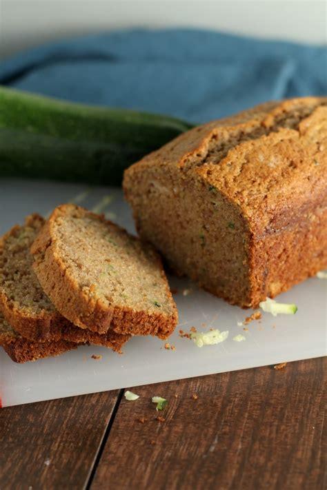 classic easy zucchini bread chocolate  grace