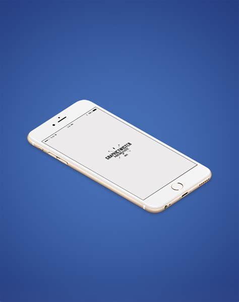 iphone   isometric mockup templates images vectors