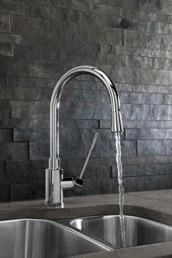 mirror kitchen backsplash blanco blancokontrole kitchen faucet with metal pull 4153