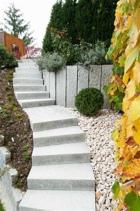 Gartentreppen  Traum Garten Gmbh  Gartenbau Schweiz