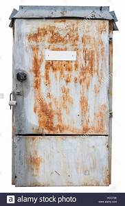 Old Rusty Retro Metal Box For Electrical Fuses And Switches  Isolated Stock Photo  Royalty Free