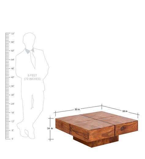 coffe table height low height solid coffee table by wood dekor by wood dekor online contemporary furniture